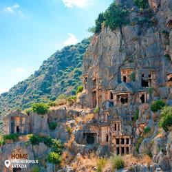 Myra Necropolis, Demre, Antalya