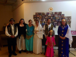 Group Photo in Traditional Outfits