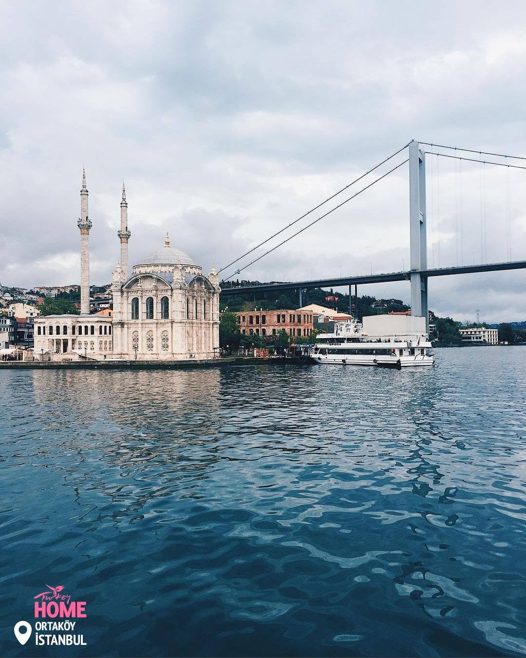 Ortakoy Mosque & Bosphorus Bridge