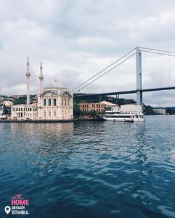 Ortakoy Mosque & Bosphorus Bridge