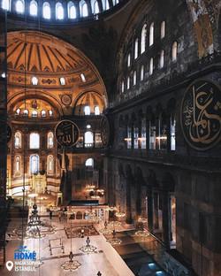 Interior of Hagia Sophia