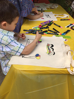 Canvas Bag Coloring