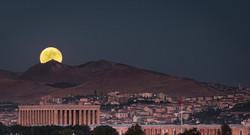 Ankara Cityscape by Moonlight