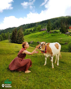 Making a New Friend in Trabzon