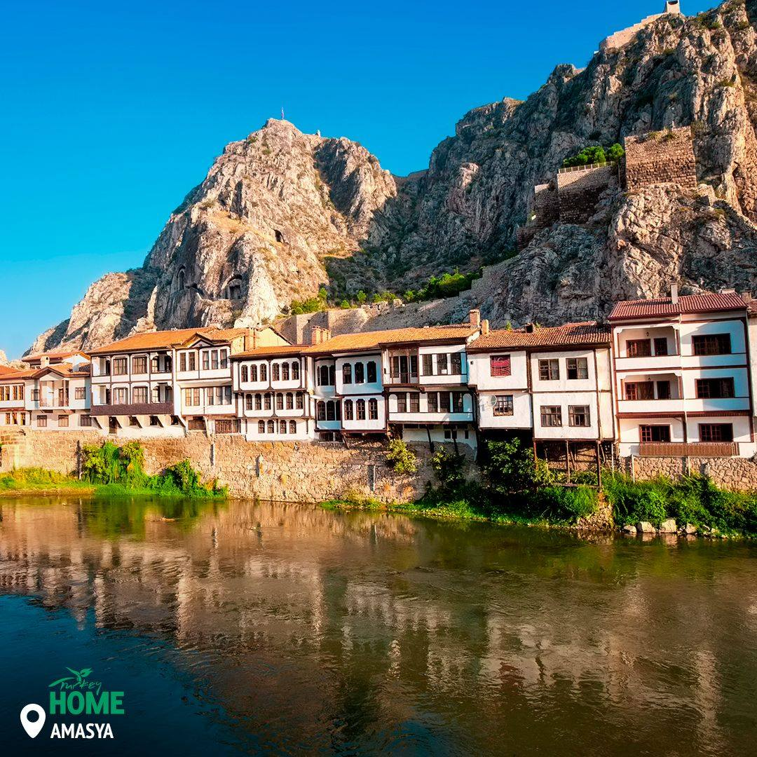 Traditional Homes in Amasya