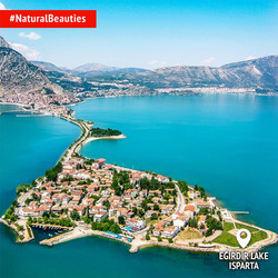 Lake Eğirdir, Isparta