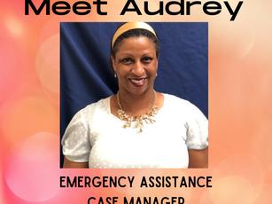 Meet Audrey -  Emergency Assistance Case Manager