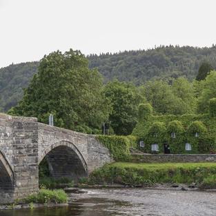 Llanrwst big bridge