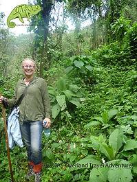 It's not about fashion when you track gorillas!, Kenya to Kigali Adventure, OTA