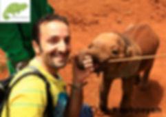 Vulcher in Maasai Mara, Nairobi to Zanzibar Adventure, OTA - Overland Travel Adventures