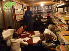 Students pack into Amani Kibera's library, OTA - Overland Travel Adventures safaris
