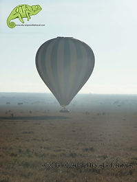 Hot air ballooning over the Masai Mara, Kenya to Kigali Adventure, OTA