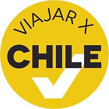 Logo ViajarxChile en formato JPG con mar