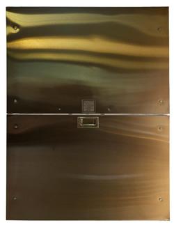 Stainless steel bi-parting car gate
