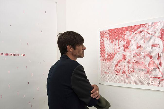 luz blanco contemporary art Monte Verita exhibited in Paris, Istanbul