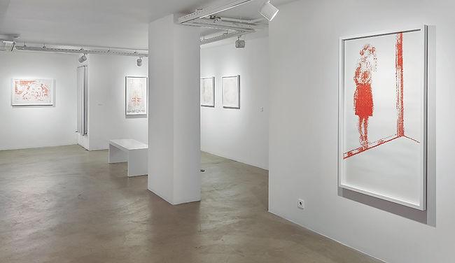 luz blanco contemporary art Self Portrait exhibited in Art Paris,  Istanbul