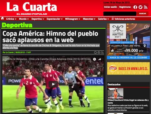 Copa América: Himno del pueblo sacó aplausos en la web