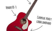 La guitarra roja