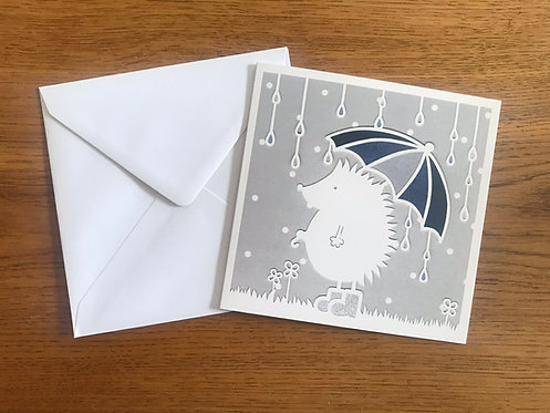 'Mr Prickles' Greeting card