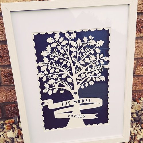 Oak Family Tree