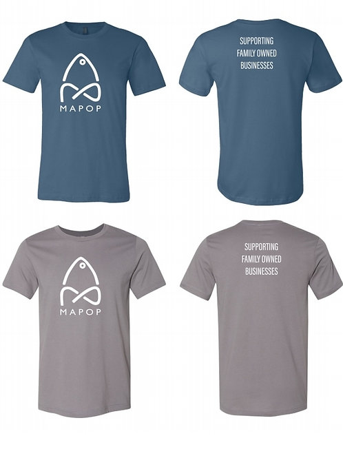 MaPop Fishing - Support Family Owned Businesses T-Shirt