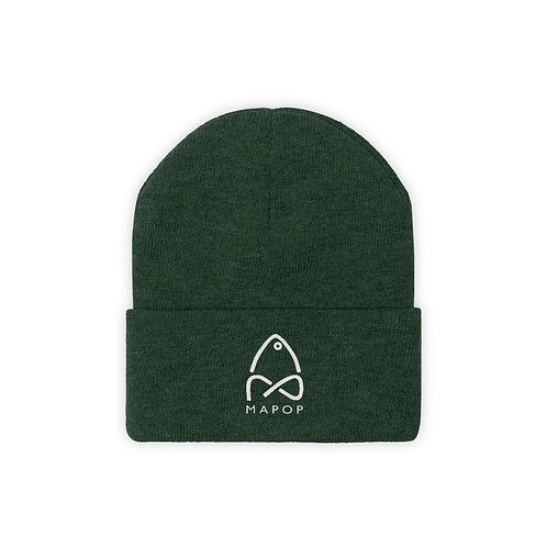 MaPop Fishing - Knit Beanie - Support Small Businesses