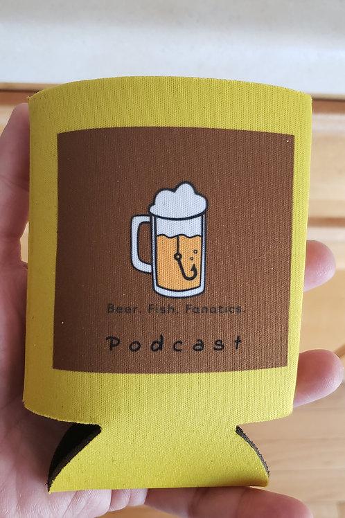 Beer Fish Fanatics - Podcast Koozie!!