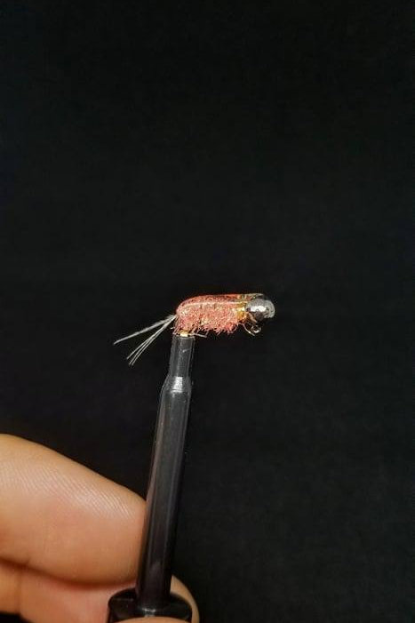 Tungsten Shrimp Ice Jig - Aaron's Custom Tying