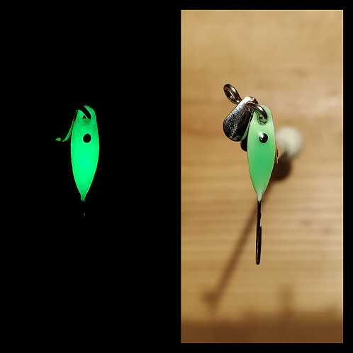 Super Glow Green with black dot - Trio Tackle