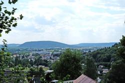 Sicht auf Oberfranken