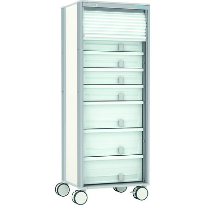 MPO supply trolley, single-row, wide
