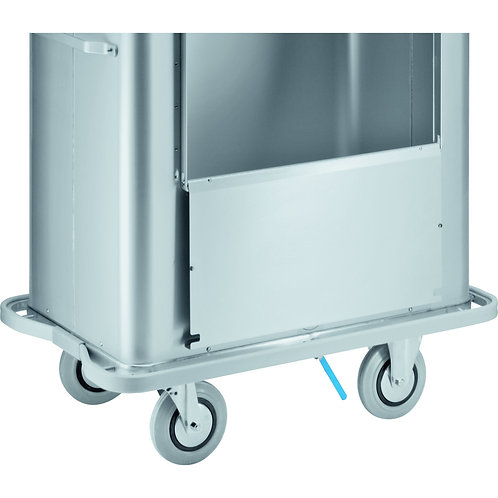W 171 transport trolley with 3-part lid
