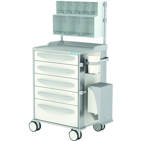 MPO anaesthesia trolley, type 1