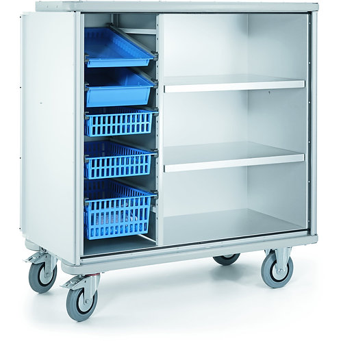 W 105 N storage cupboard trolley