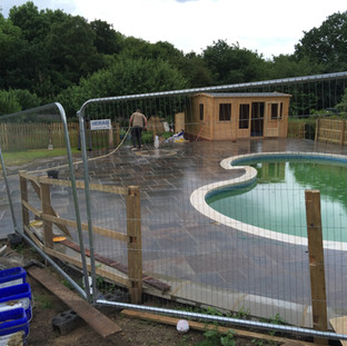 Swimming pool refurbishmemts