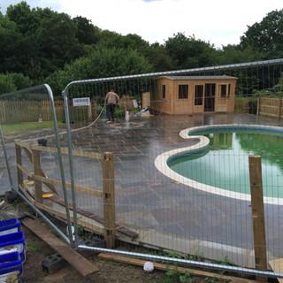 Swimming pool refurbishmemts