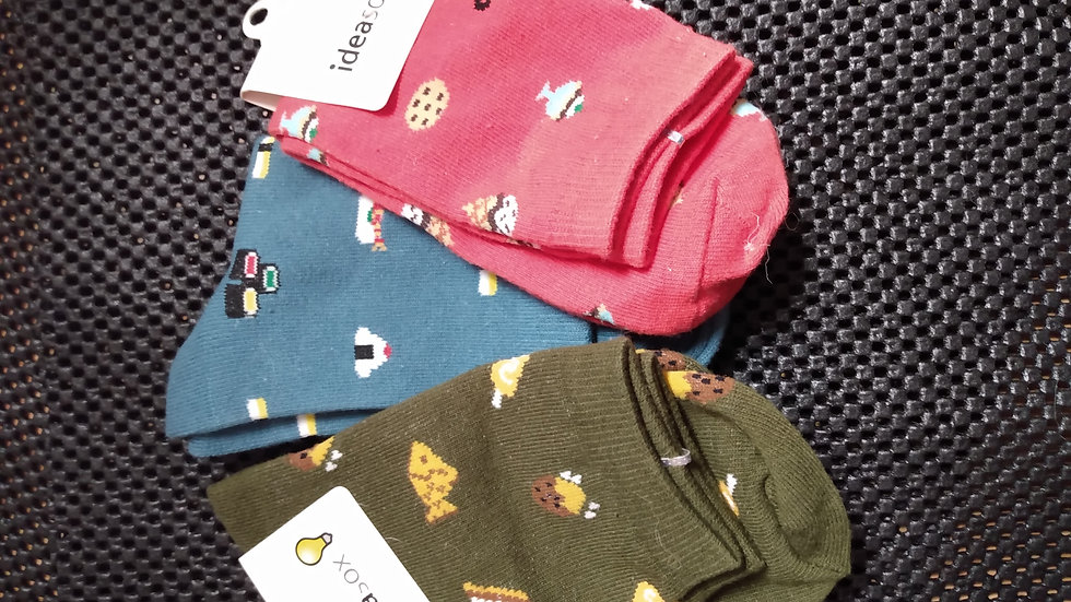 Socks (food and animal print) price per pair