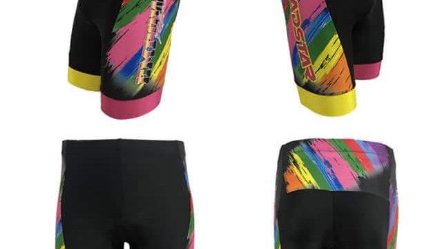 Rainbow Brush Training Shorts