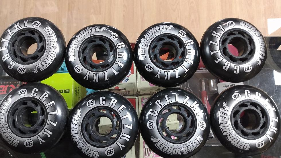 Gretzky ultra- wheels hockey 76 mm
