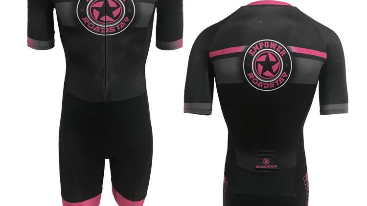 Empower roller sports pink and black training style