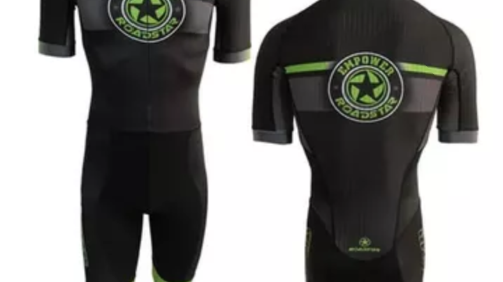 Empower Roller Sports black and lime green training style