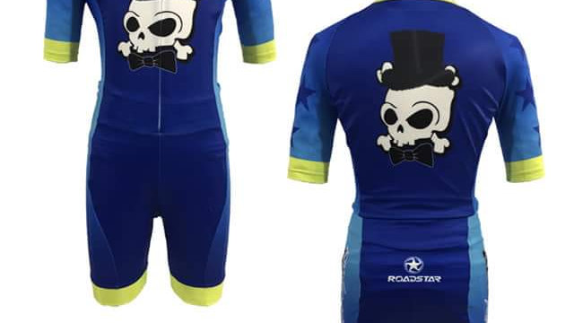 Boys Collection Blue Skulls