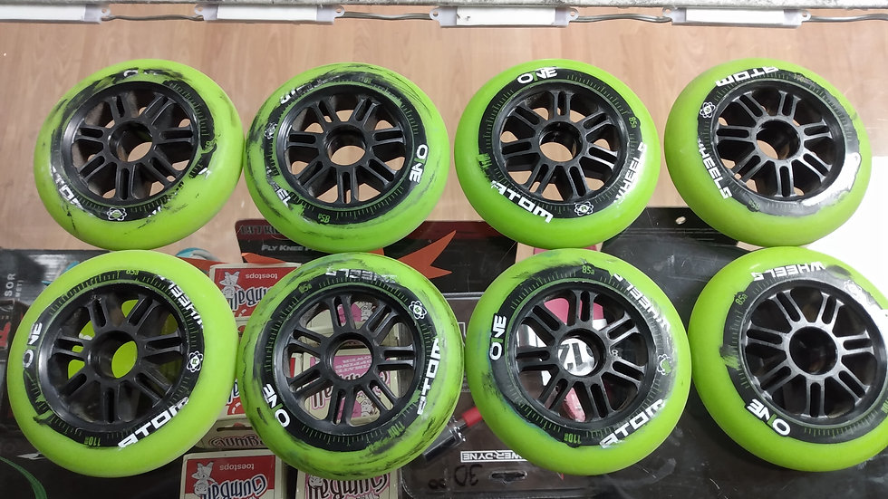 Atom One wheels 110 mm 85a