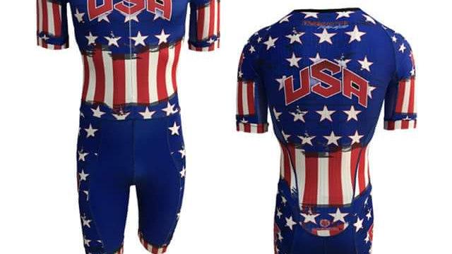 USA Stars and Bars Racing Fit