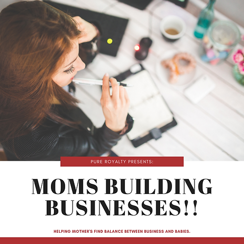 Moms Building Businesses