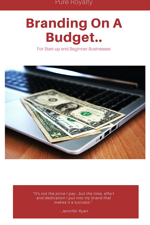 Branding on a Budget E-Book
