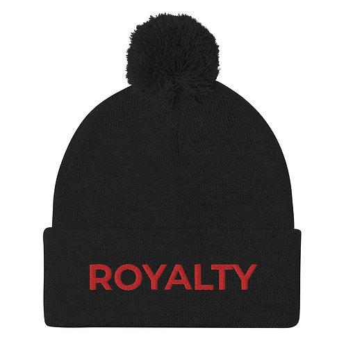 Royalty Pom-Pom Beanie