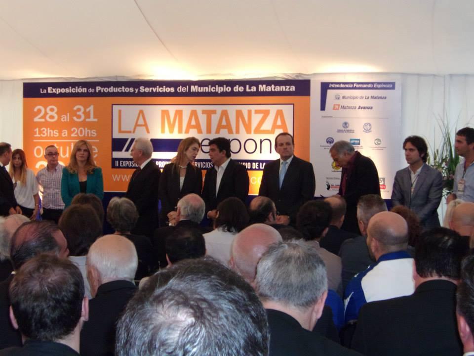 MATANZA EXPONE 2014 AUTORIDADES