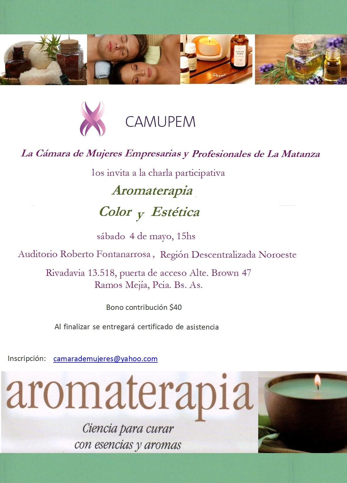 Aromaterapia, Color y Estética