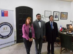 Reunión en la Secretaria de Gobierno